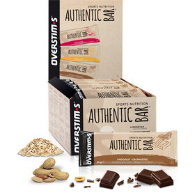OVERSTIM.s Authentic Boîte de barres 30x65g, Chocolate Peanuts